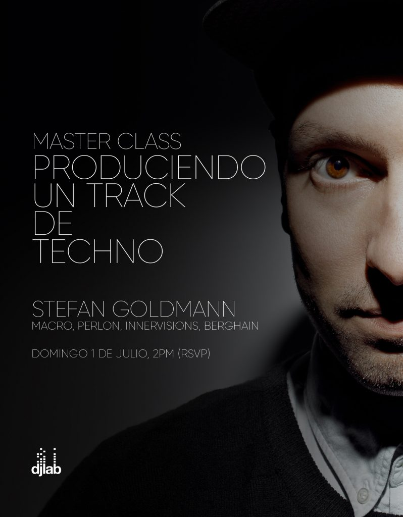 STEFAN GOLDMANN: PRODUCIENDO UN TRACK DE TECHNO