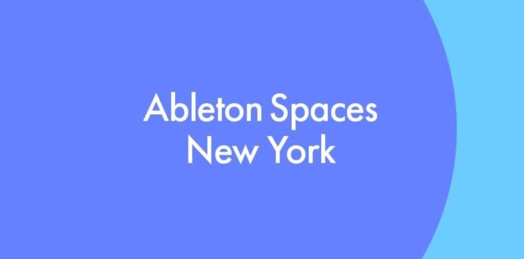 Espacios de Ableton: Nueva York 2019