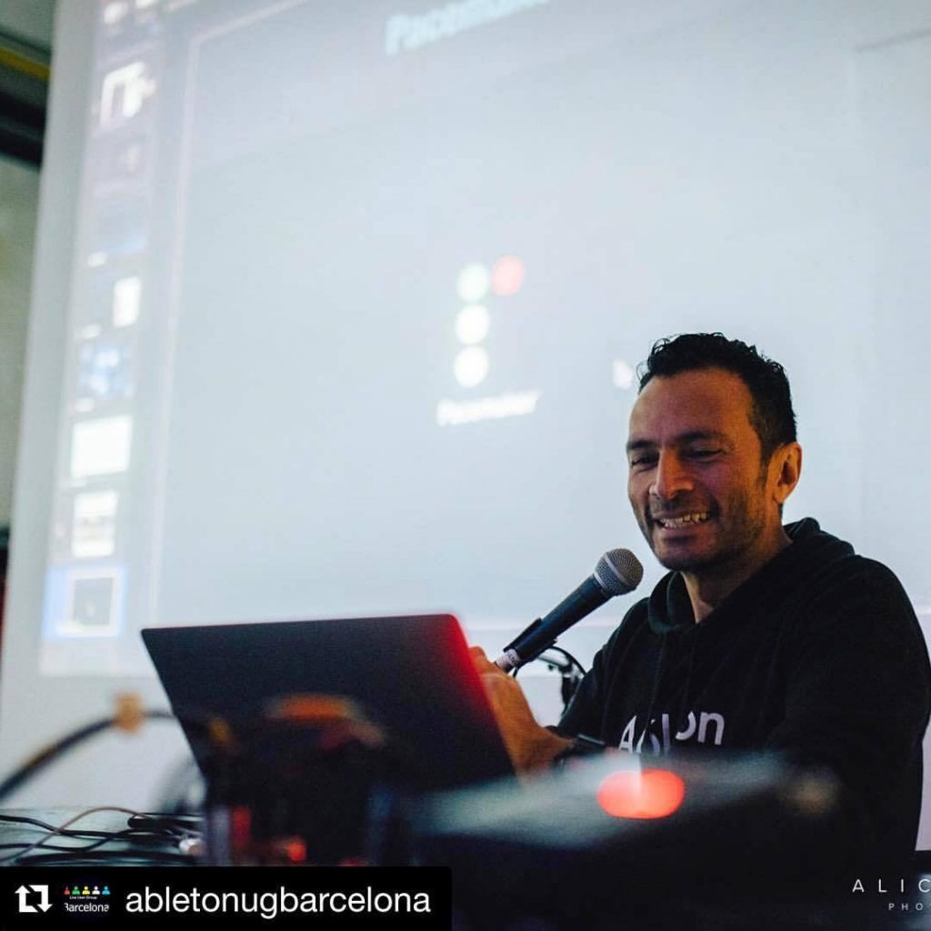 Joaquín Jimenez: Primer entrenador certificado de Ableton en Latinoamérica
