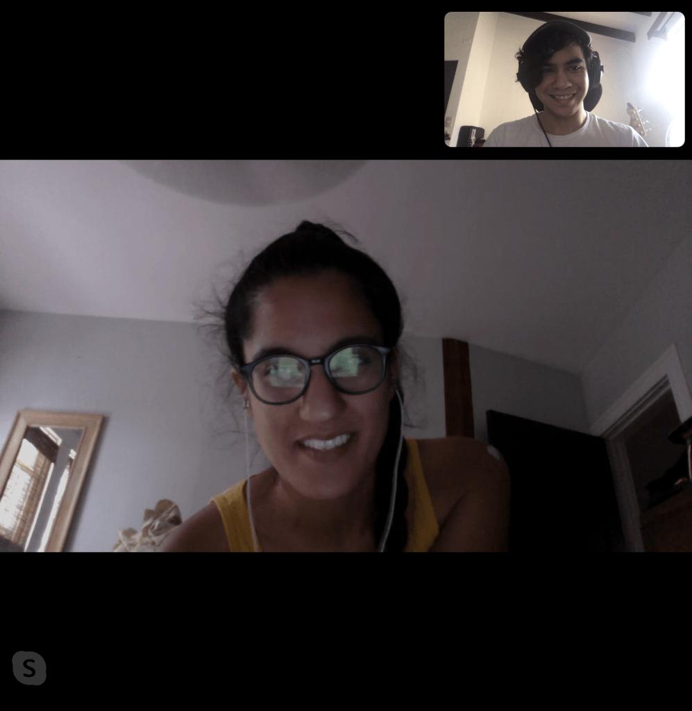 Entrevista entre Ami Dang y Pablo Hernandez